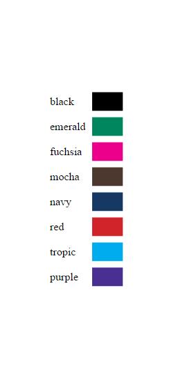 Print Colors